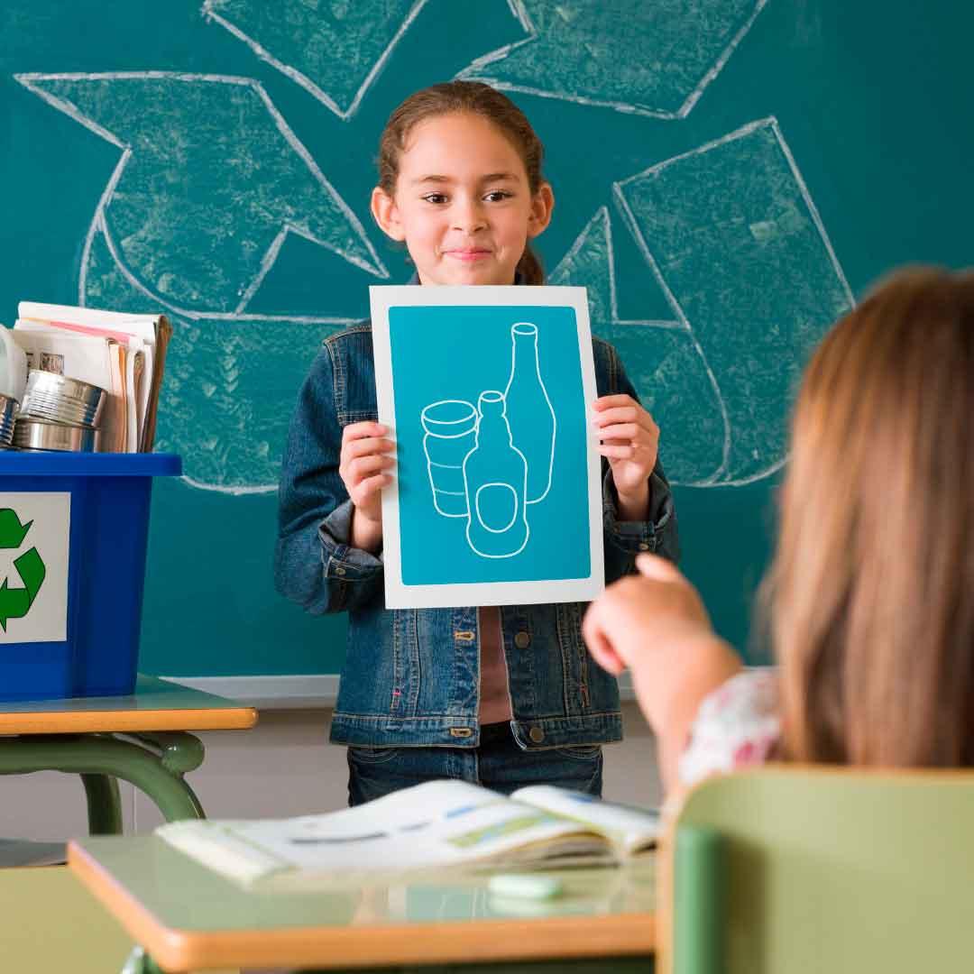 Como ser sostenible dentro y fuera del aula
