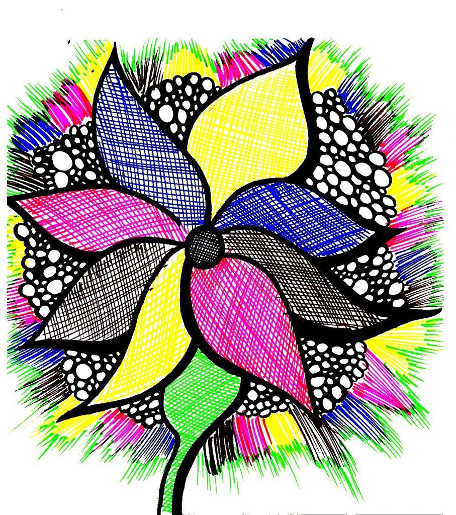 Doodling 1 Doodling y Zentangle. 2 Técnicas de relajación