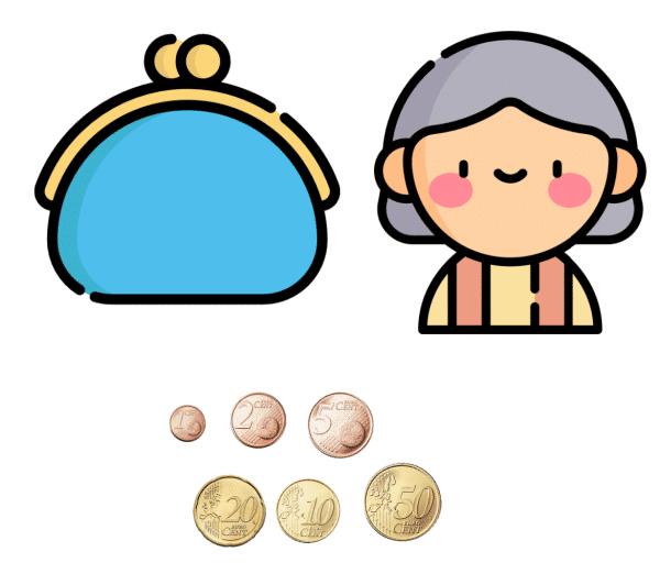 cuanto dinero hay en la cartera de la abuela 3 ¿Cuánto dinero hay en la cartera de la abuela?