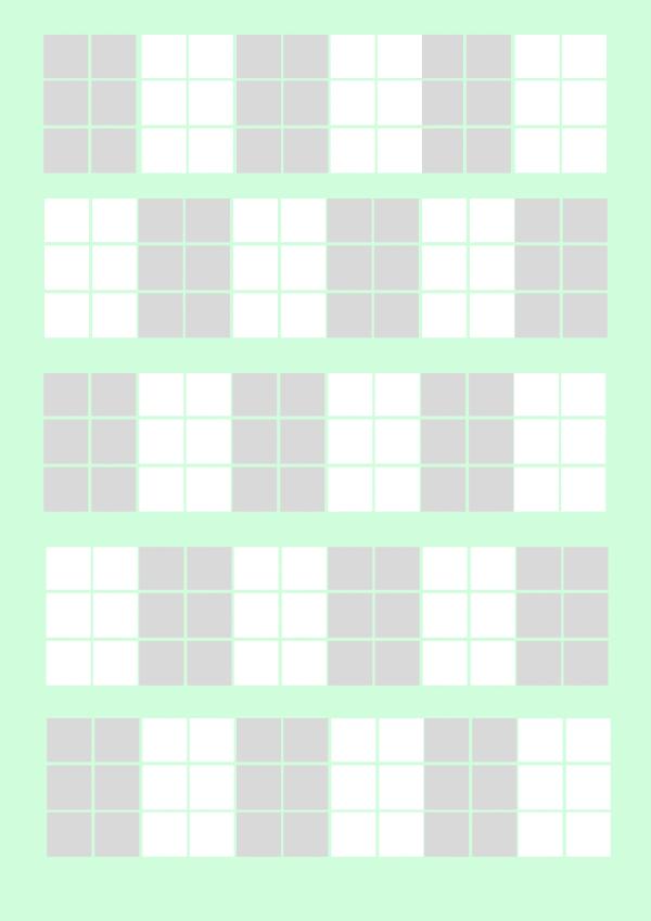 Plantilla para practicar Braille