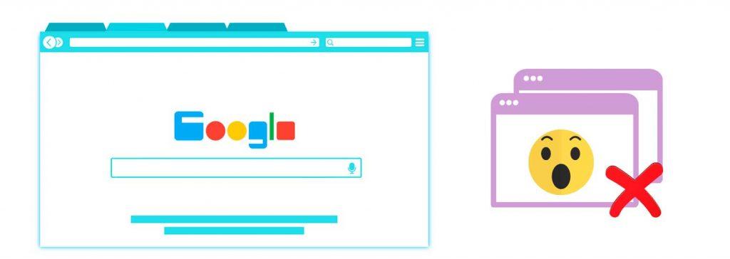 Recuperar pestañas cerradas en Google Chrome